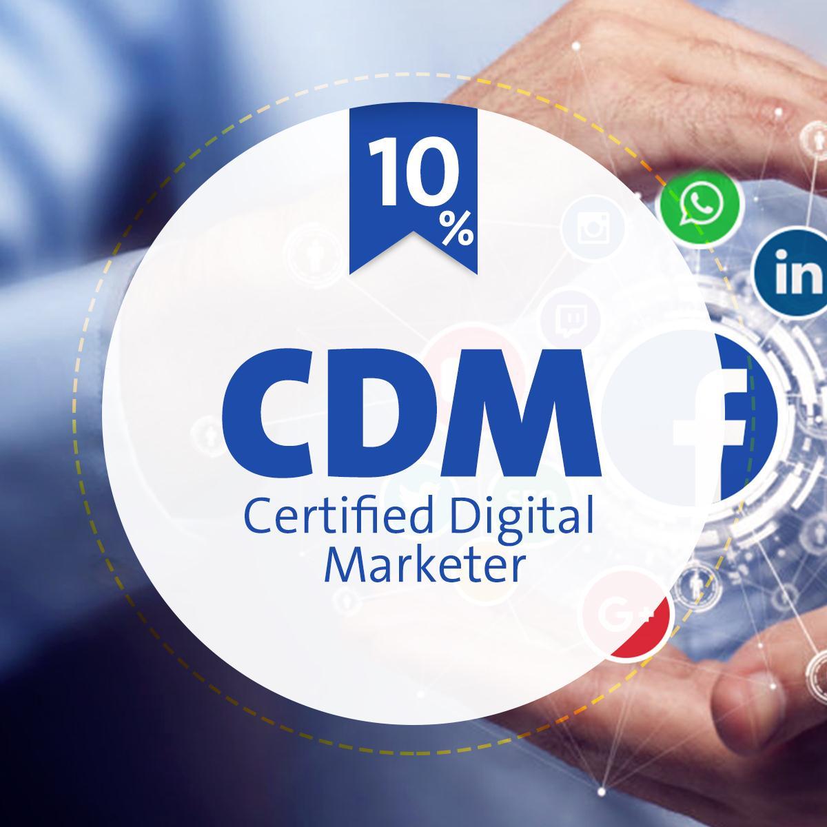 Cdm Certified Digital Marketer Training Course Pioneers Academy
